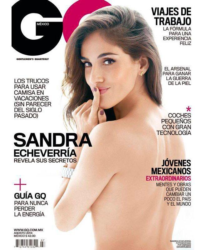 fb4603ce0e Sandra Echeverría posa topless para la revista GQ – Laura G