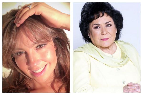 Thalía a Carmen Salinas