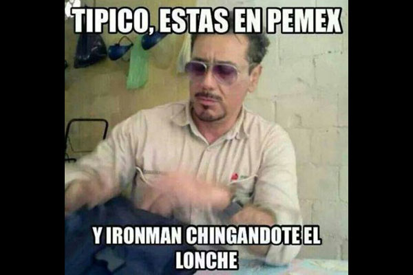 Iron Man mexicano