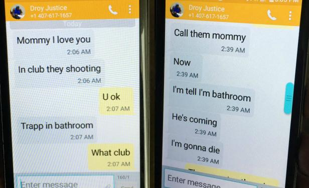 mensajes víctimas Orlando
