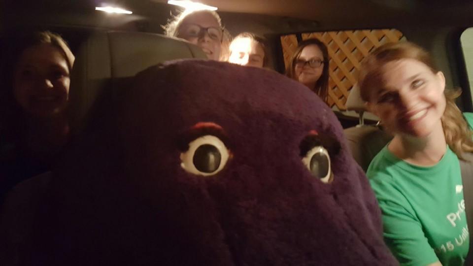 disfraz Barney