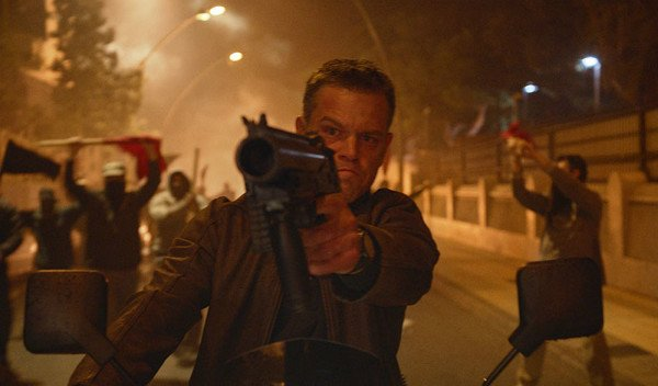 Matt Damon 'Jason Bourne'