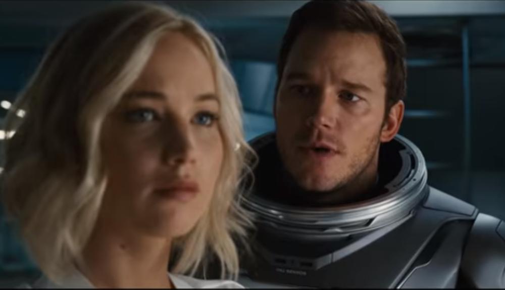 Revisa el primer trailer de Passengers
