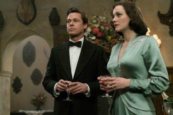 Marion Cotillard y Brad Pitt