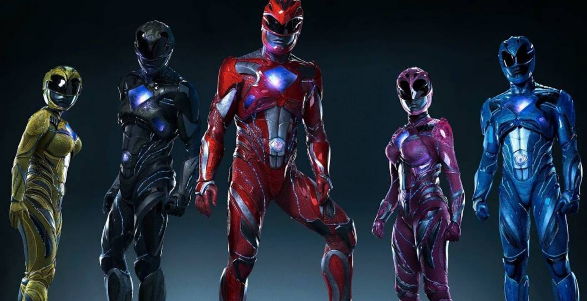 Mira el primer tráiler oficial de Power Rangers