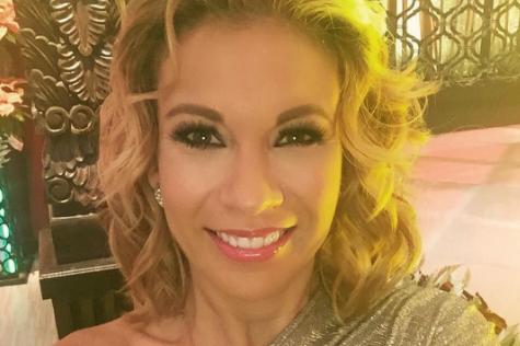 Ingrid Coronado usa collarín tras caída en Venga La Alegría