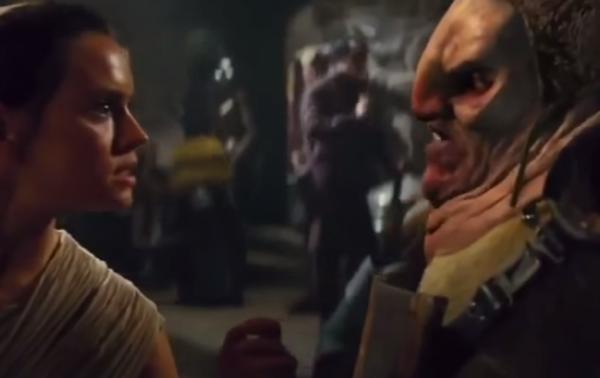 Disney eliminó una escena violenta de Star Wars VII