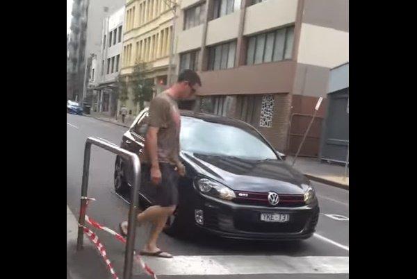 Broma detiene el tránsito