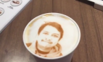 máquina de café imprime tu rostro