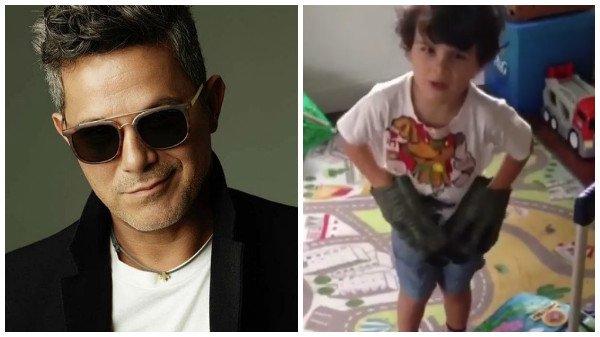 Hijo de Alejandro Sanz tiene 6 años y ya habla cinco idiomas