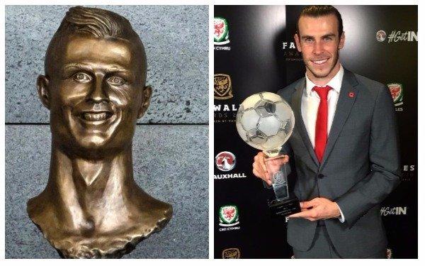 Creador del criticado busto de CR7 ahora presenta el de Bale