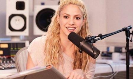 Shakira se convierte en locutora
