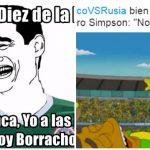 Vean los mejores memes del partido de México contra Rusia