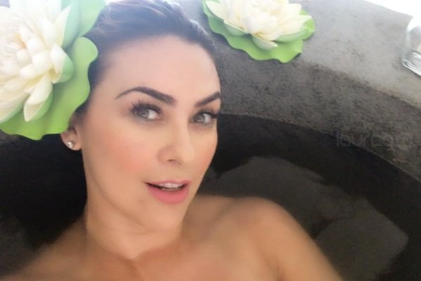 Aracely Arámbula makes meditation way more sexy and in a bikini - laurag.tv (Satire) 1