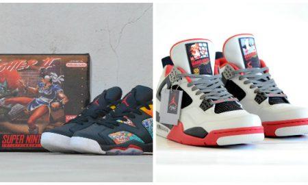 sneakers de Nintendo, Star Wars, Street Fighter
