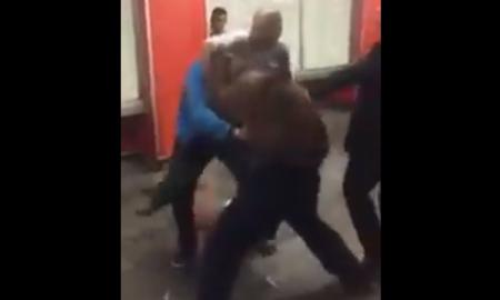 pelea metro Pino Suárez