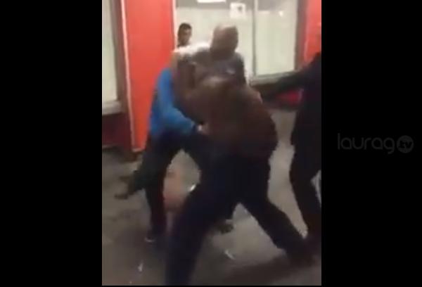 Se arma campal en Pino Suárez