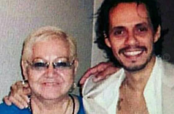 Madre de Marc Anthony murió