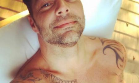 Ricky Martin trasero