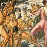 Aparece un smartphone en una pintura de 1937 sobre los pueblos nativos de Estados Unidos