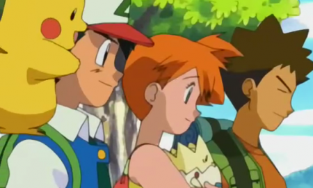 Misty y Brock Pokemón