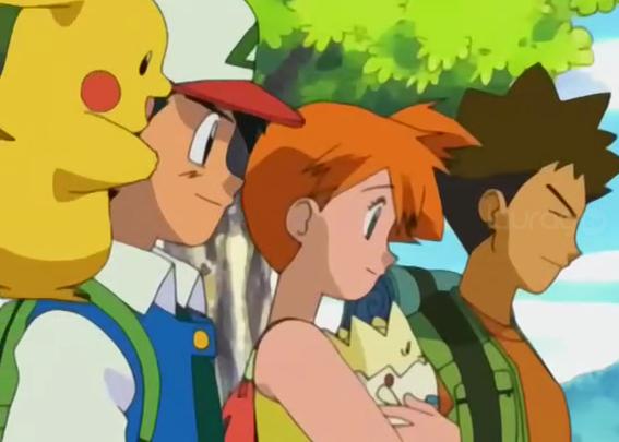 Misty y Brock Pokemón