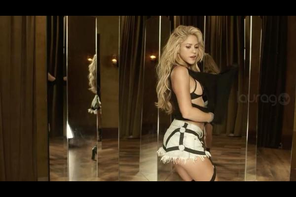 Shakira y Nicky Jam: competición de traseros en Instagram