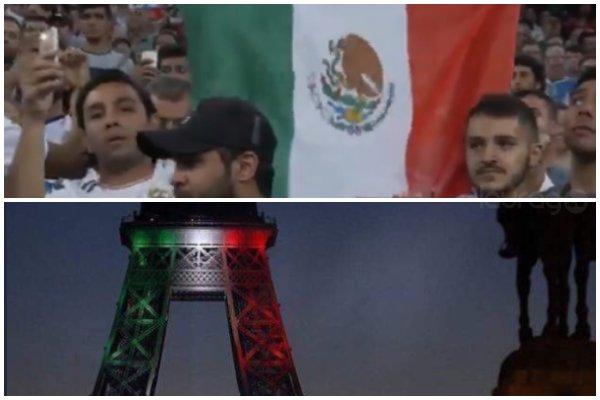 México se encuentra en las oraciones de todo el mundo