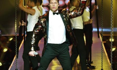 Ricky Martin en el Zócalo