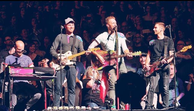 Dedica Coldplay canción a México