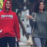 Selena Gomez y Justin Bieber son captados besándose