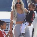 Kim Kardashian revela por accidente el sexo de su tercer hijo
