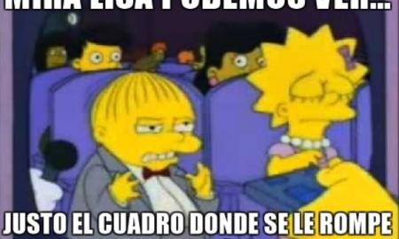 termina a su novio con memes de 'Los Simpson'