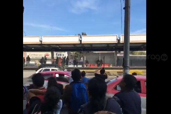 [Video] Ovnis paralizan a la población en Avenida Tlalpan