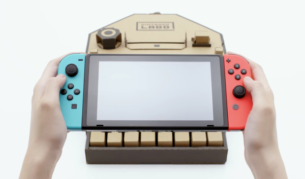 Nintendo presenta sus nuevos accesorios de cartón llamados Nintendo Labo
