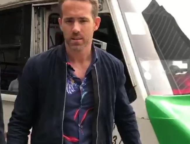 Ryan Reynolds se sube al transporte público de la CDMX