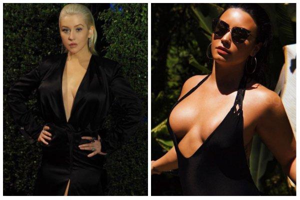 Christina Aguilera y Demi Lovato lanzan 'Fall In Line'