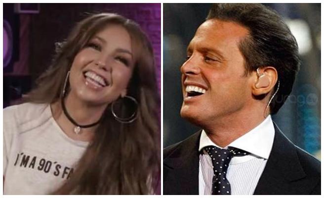 Thalía dio detalles de su accidente con Luis Miguel