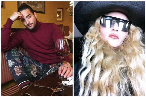 Madonna le hace broma a Maluma y le dice rubia — Instagram