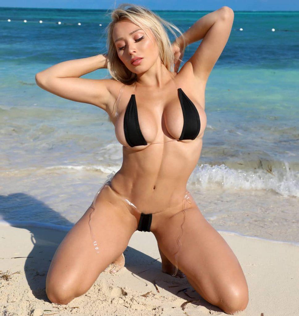 9e84558369ed Demi Rose deja poco a la imaginación por diminuto bikini – Laura G