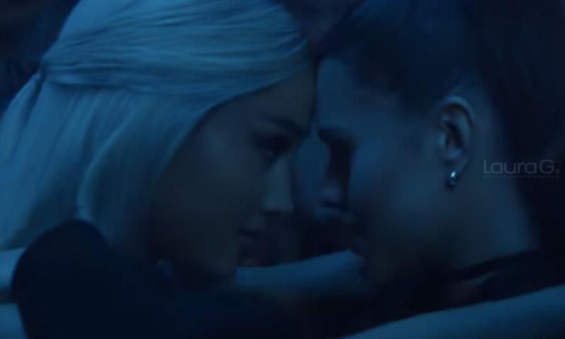 Ariana Grande estrenó disco y video