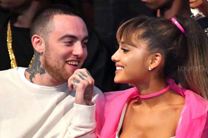 Ariana Grande lloró al recordar a Mac Miller en medio concierto