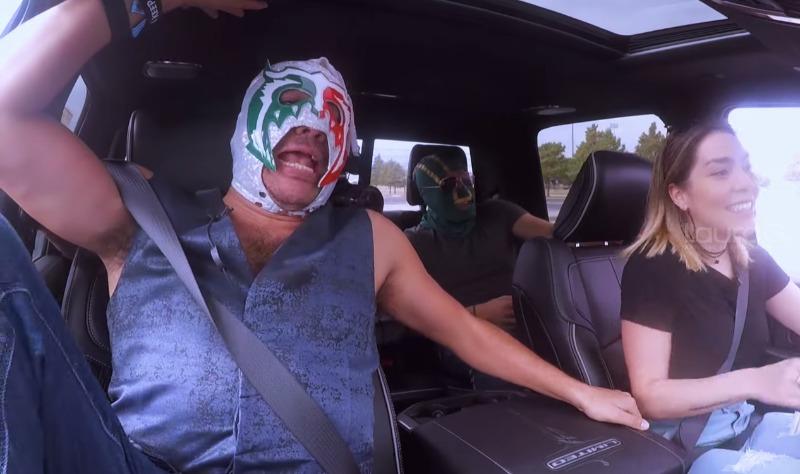 Frida Sofía se sube al volante con el 'Escorpión... - laurag.tv
