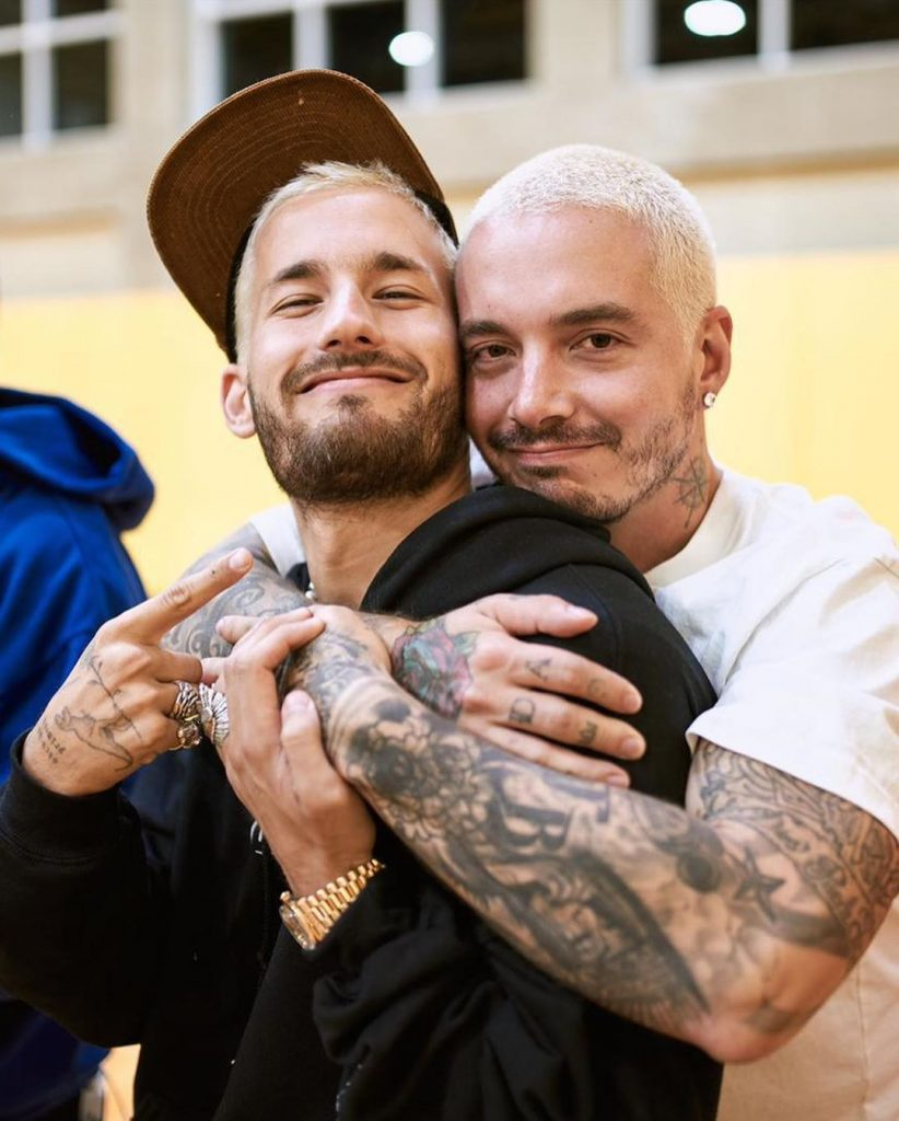 Ricky and J Balvin