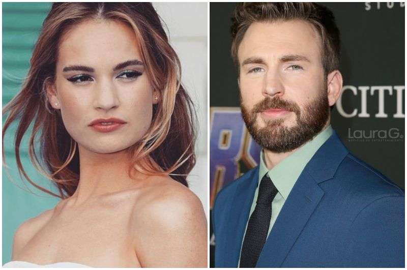 chris-evans-lily-james