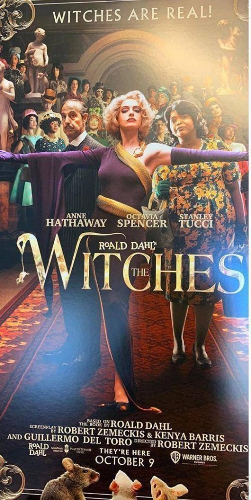 Las brujas anne Hathaway
